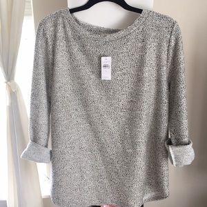 NWT Loft Boucle Sweatshirt